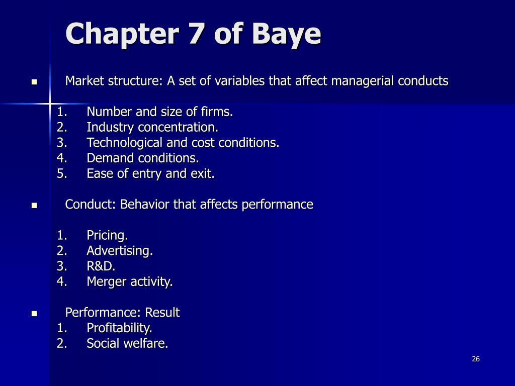 Chapter 7 of Baye