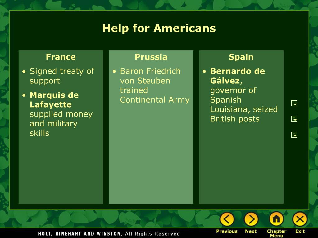 Help for Americans