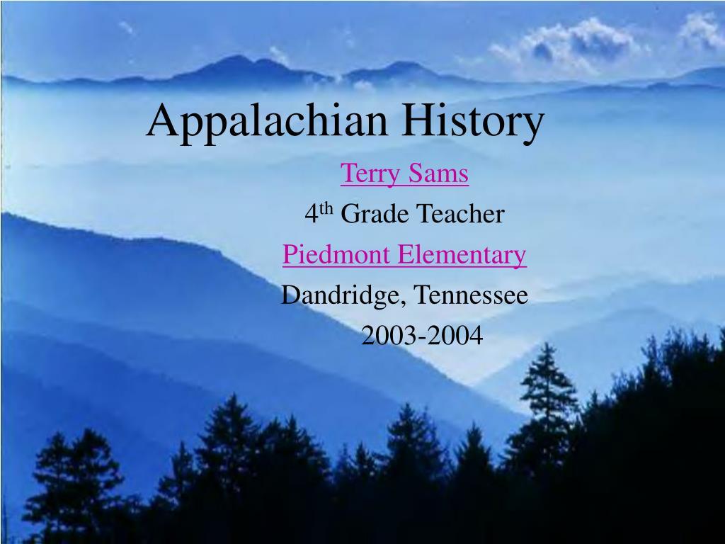 appalachian history