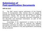 submission of post qualification documents1