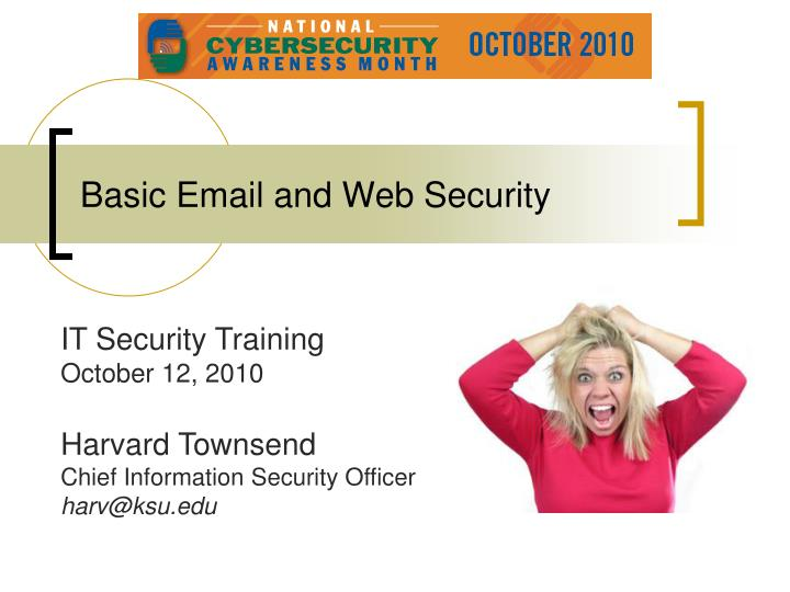 basic email and web security n.