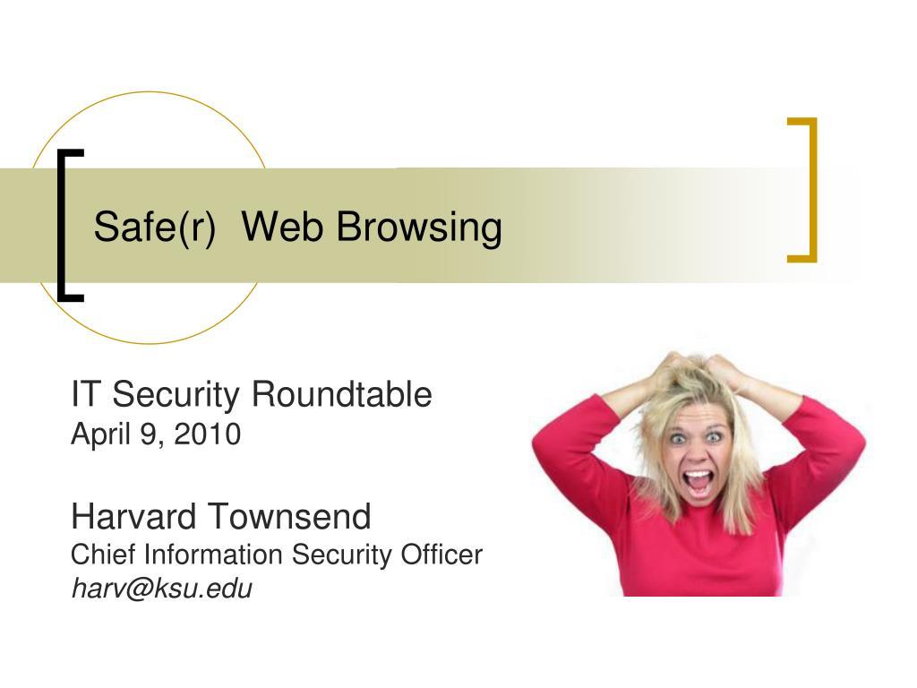 Safe(r)  Web Browsing