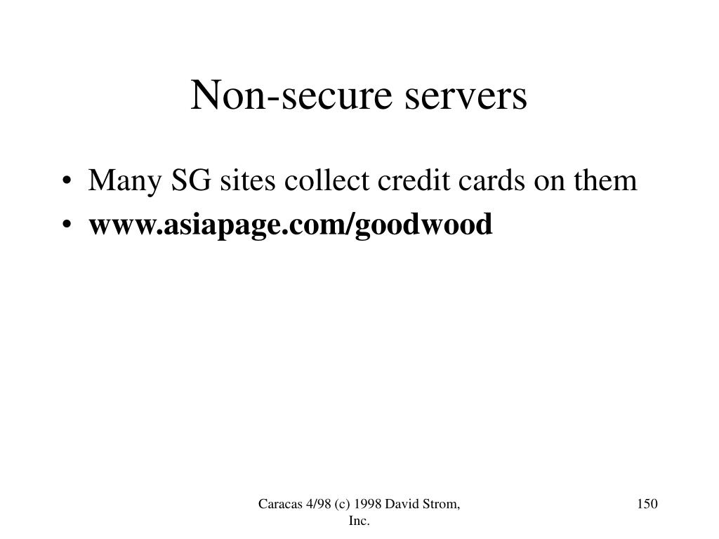 Non-secure servers