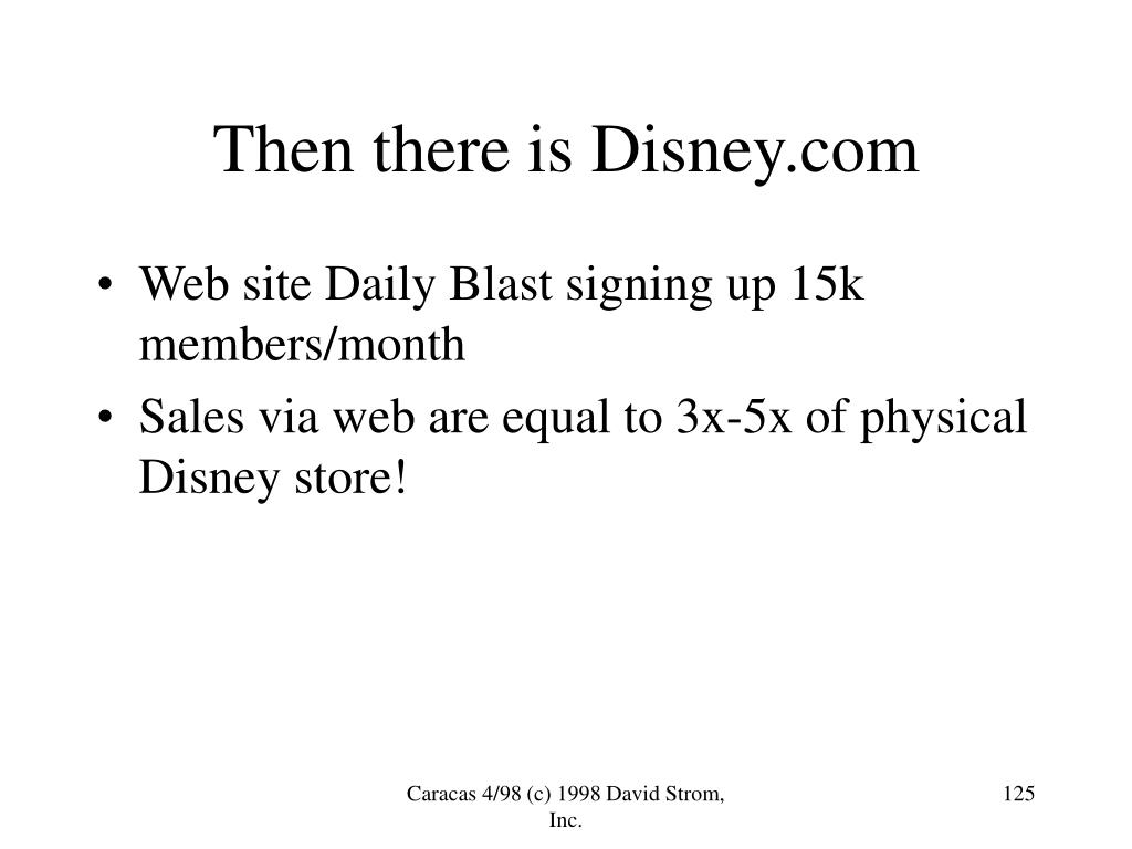Then there is Disney.com