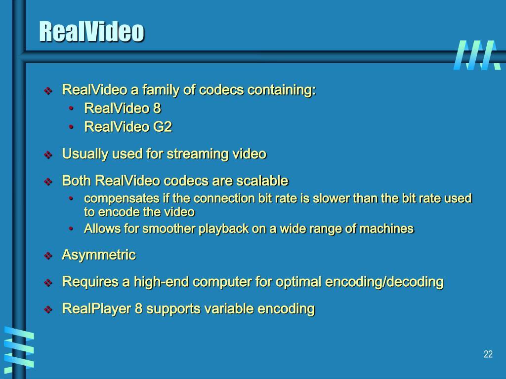 RealVideo