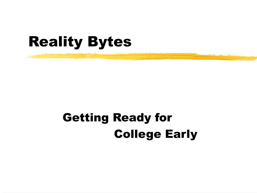reality bytes l.