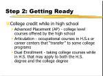 step 2 getting ready16