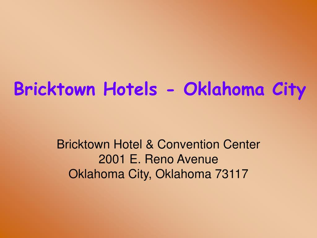 bricktown hotels oklahoma city l.