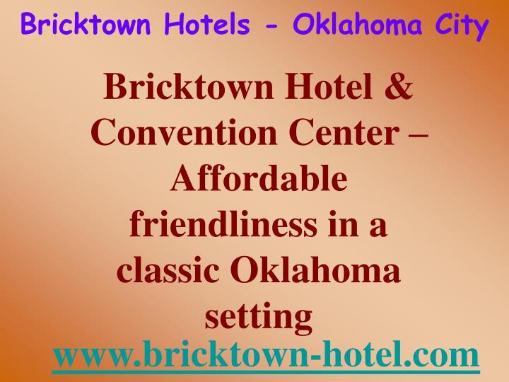 Bricktown hotels oklahoma city2