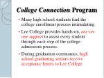 college connection program