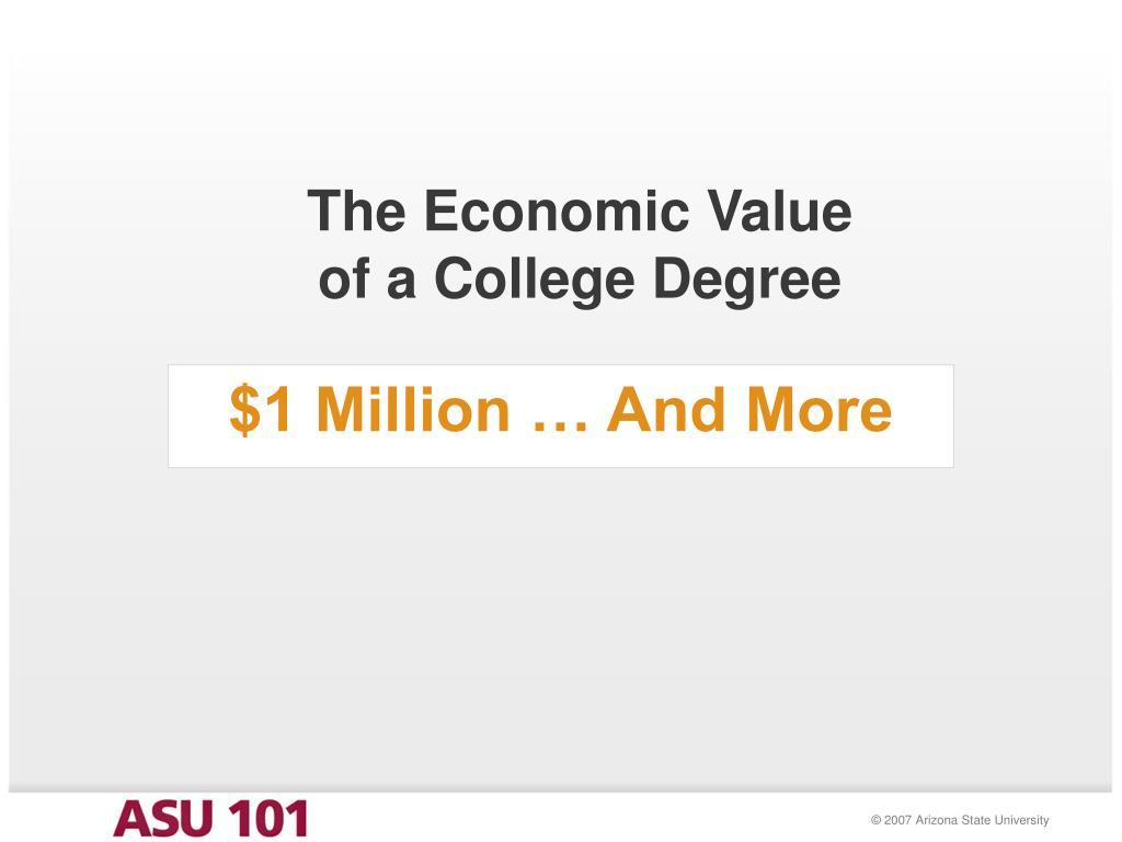 The Economic Value