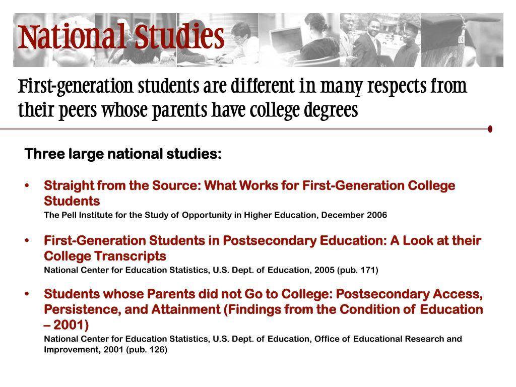 National Studies