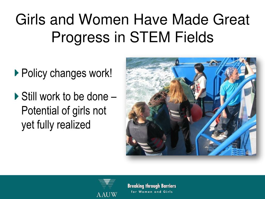 Girls and Women Have Made Great Progress in STEM Fields