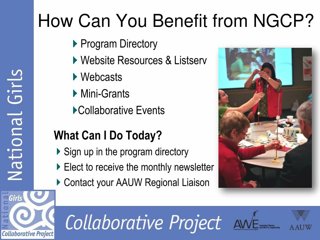How Can You Benefit from NGCP?