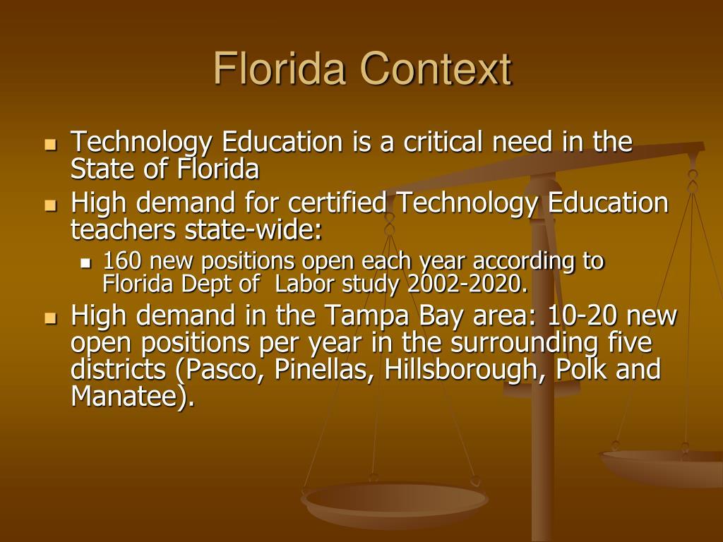 Florida Context