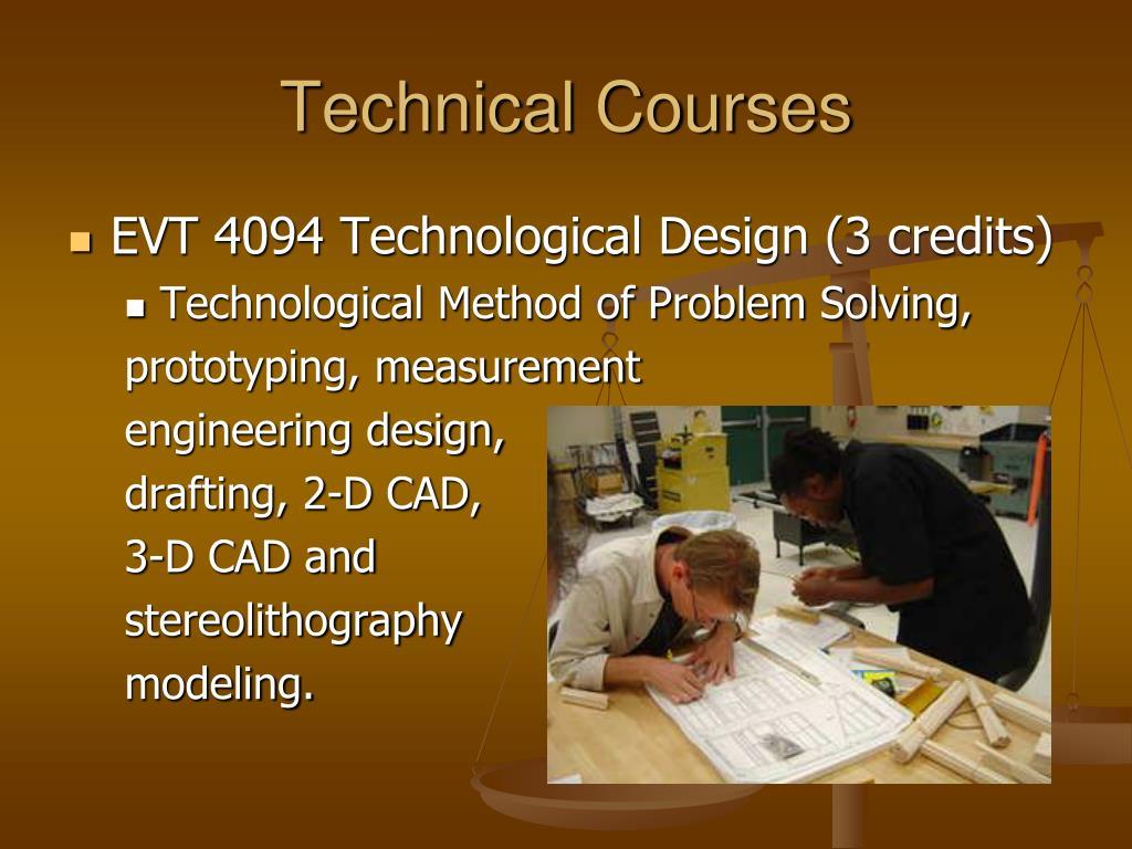 Technical Courses