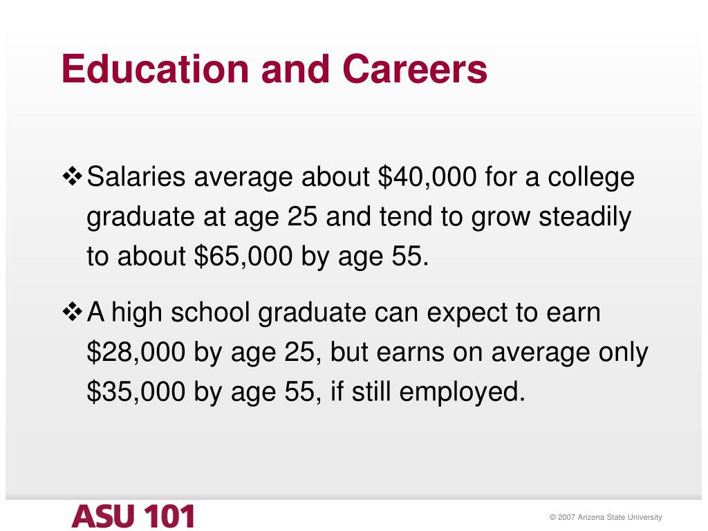 Education and Careers