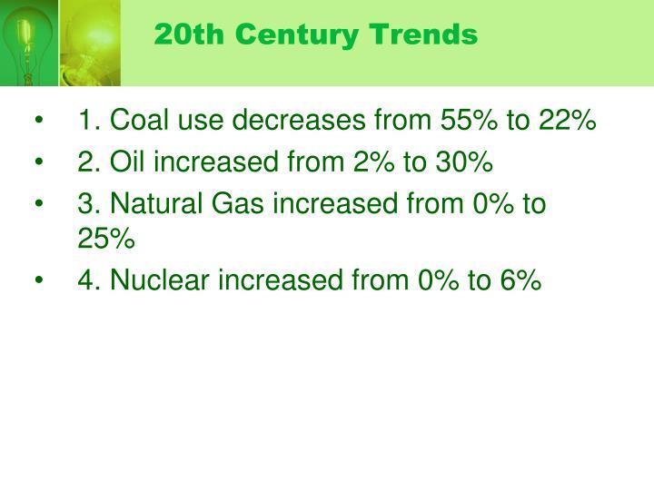 20th Century Trends