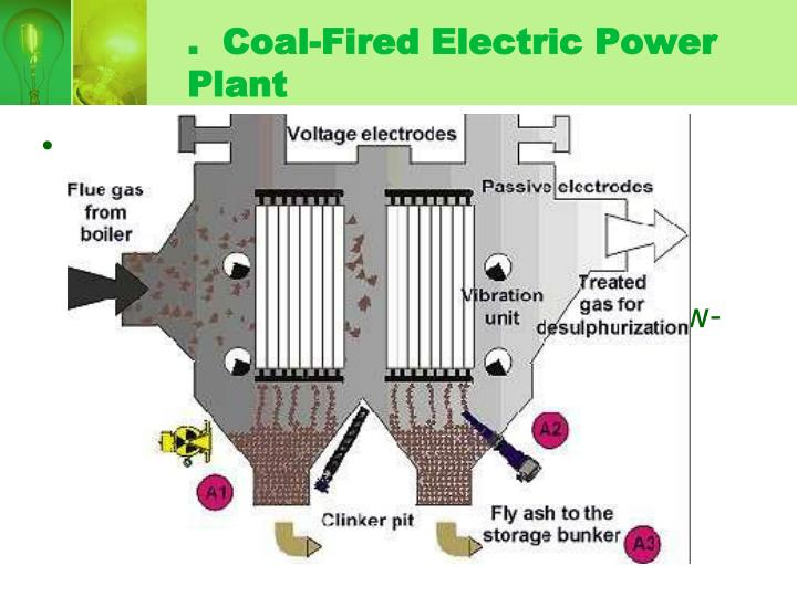 .  Coal-Fired Electric Power Plant