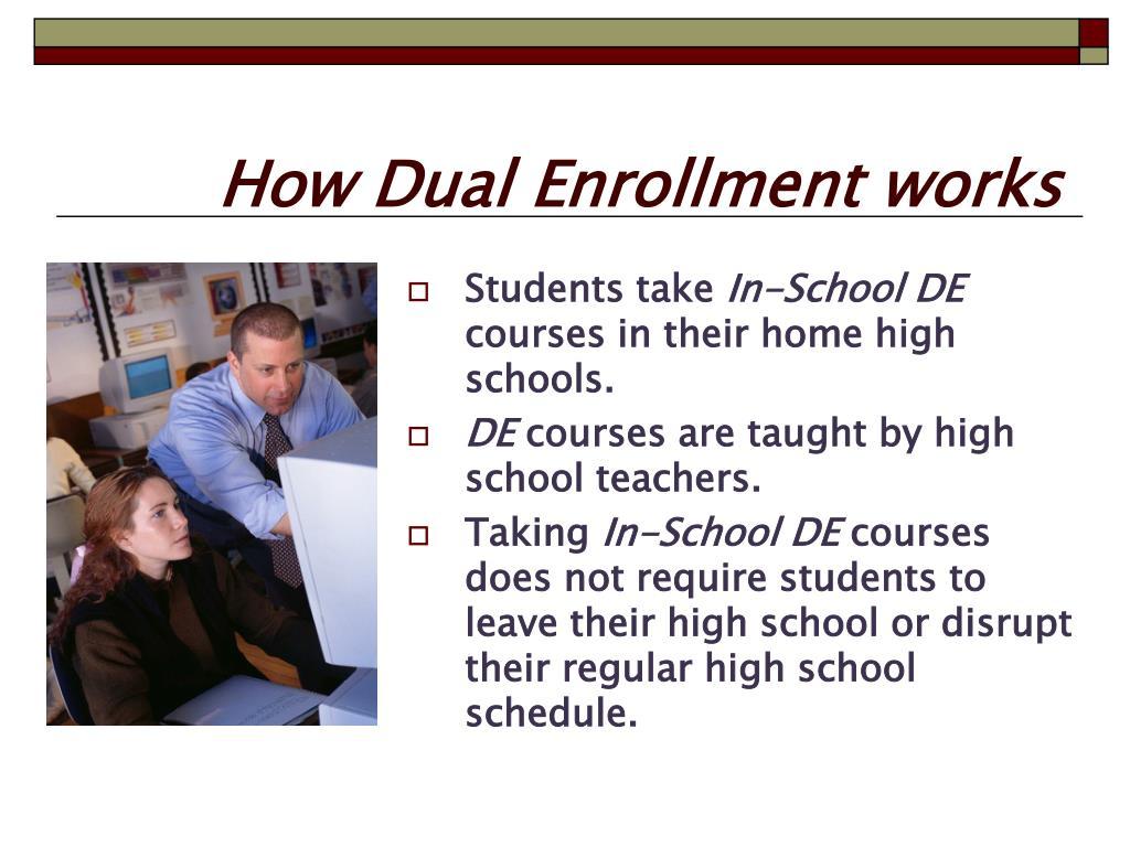 How Dual Enrollment works