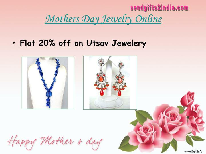 Mothers day jewelry online