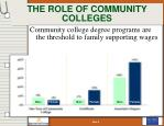 the role of community colleges