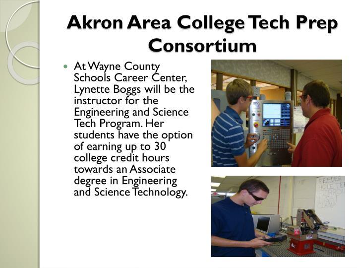 Akron area college tech prep consortium3