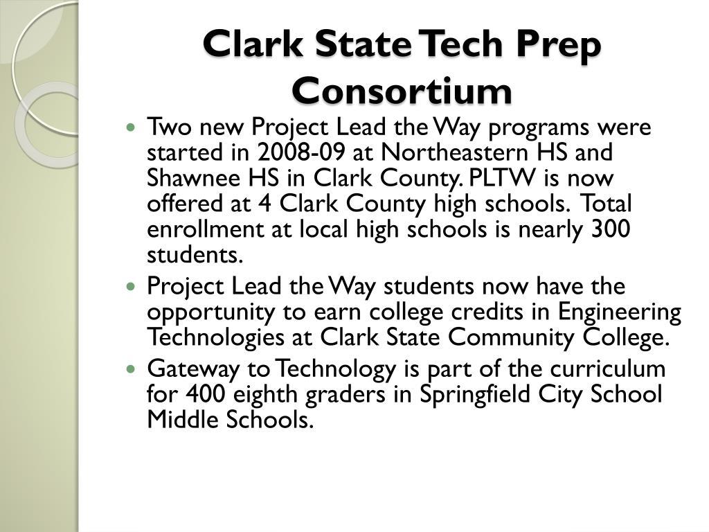 Clark State Tech Prep