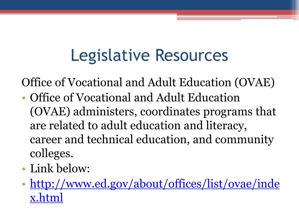 Legislative Resources