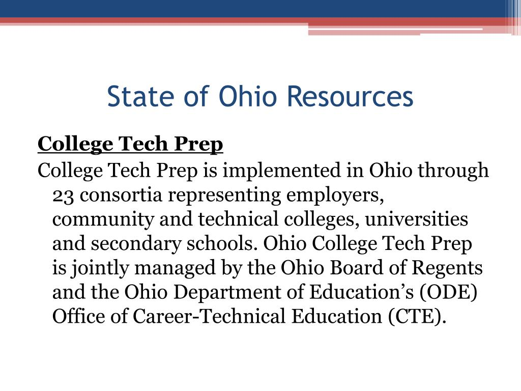 State of Ohio Resources