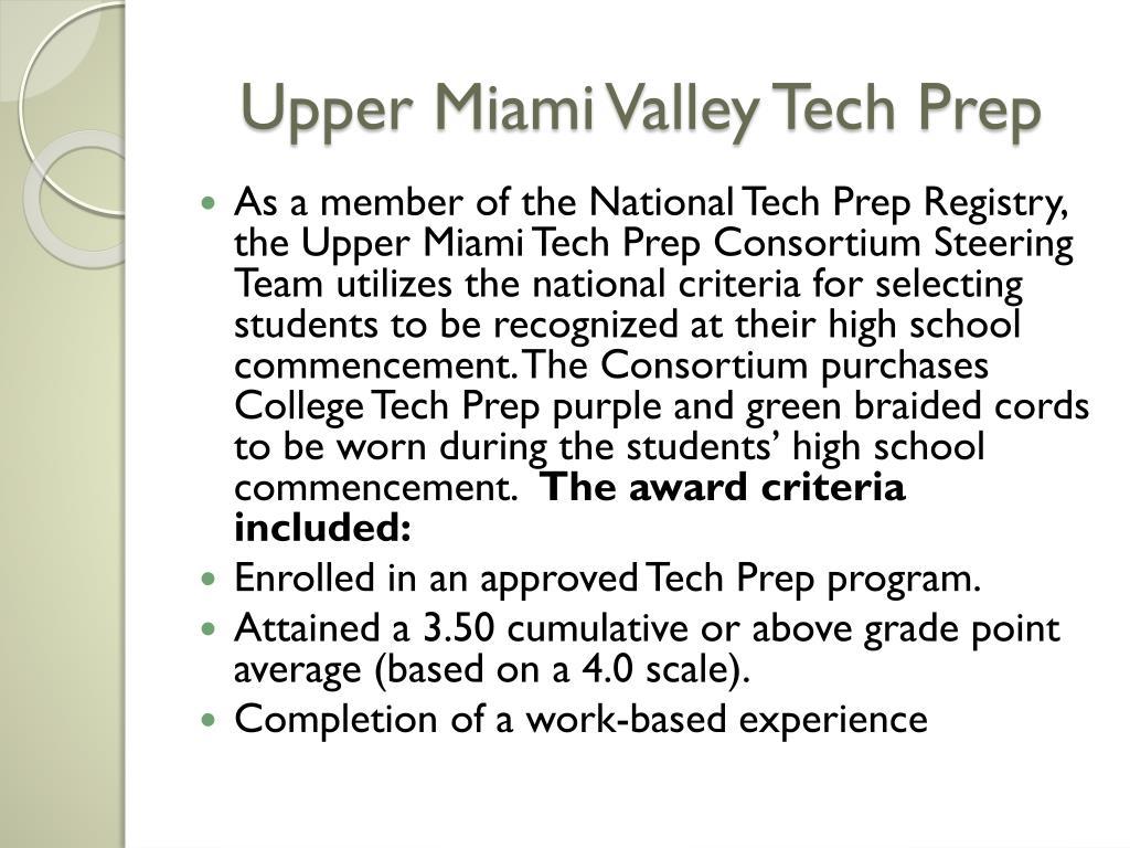 Upper Miami Valley Tech Prep