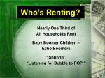 who s renting
