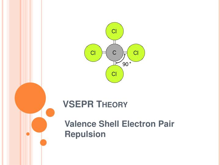understanding how the valence shell electron repulsion works Could possibly be via valence shell electron pair repulsion theory so, the repulsion between the lone pair and the bonding pair is going to be greater than the repulsions between the bonding pairs.