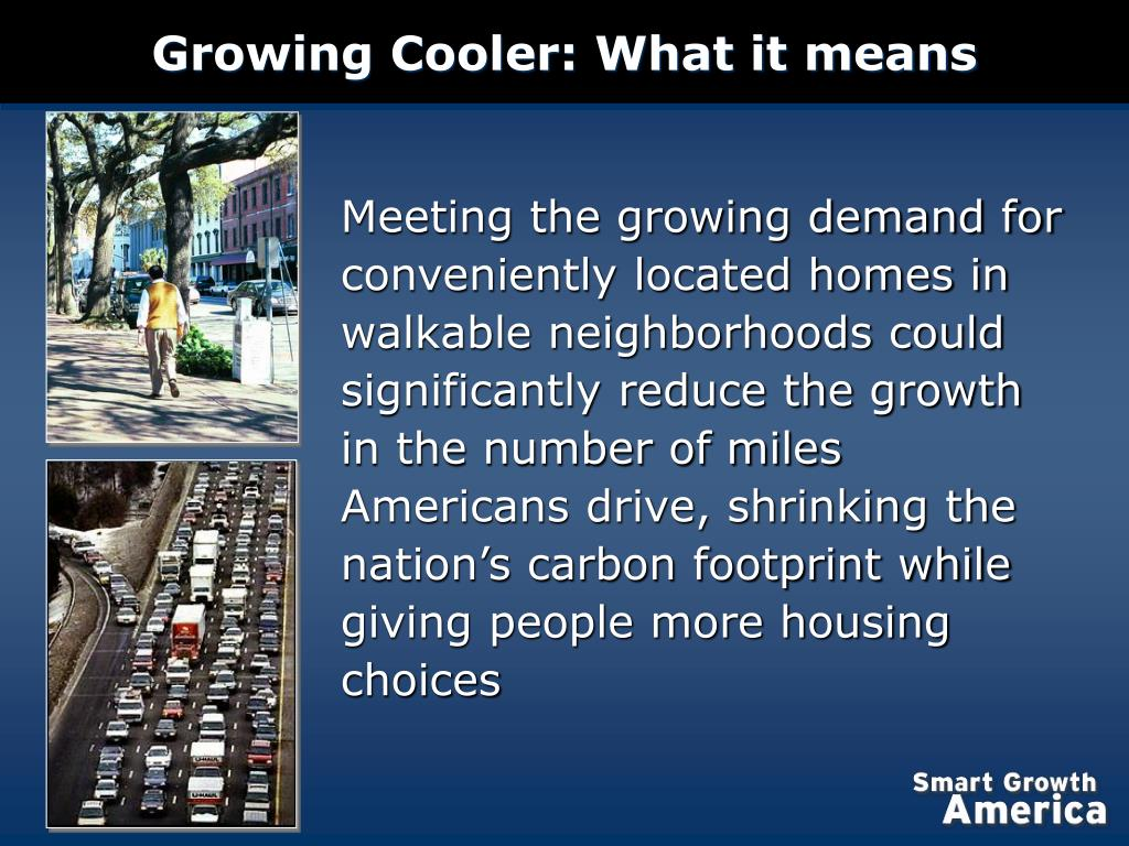 Growing Cooler: What it means