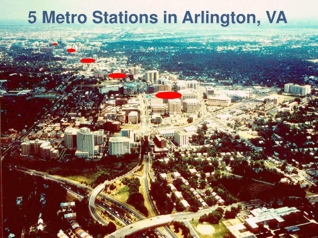 5 Metro Stations in Arlington, VA
