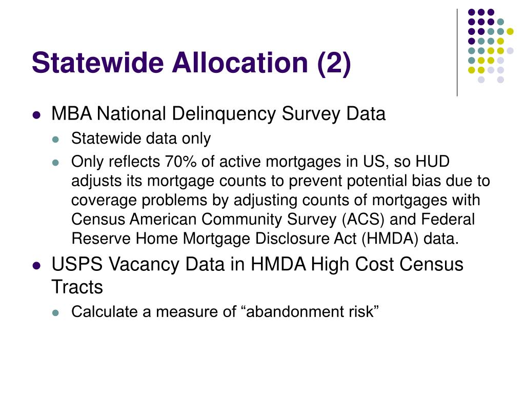 Statewide Allocation (2)