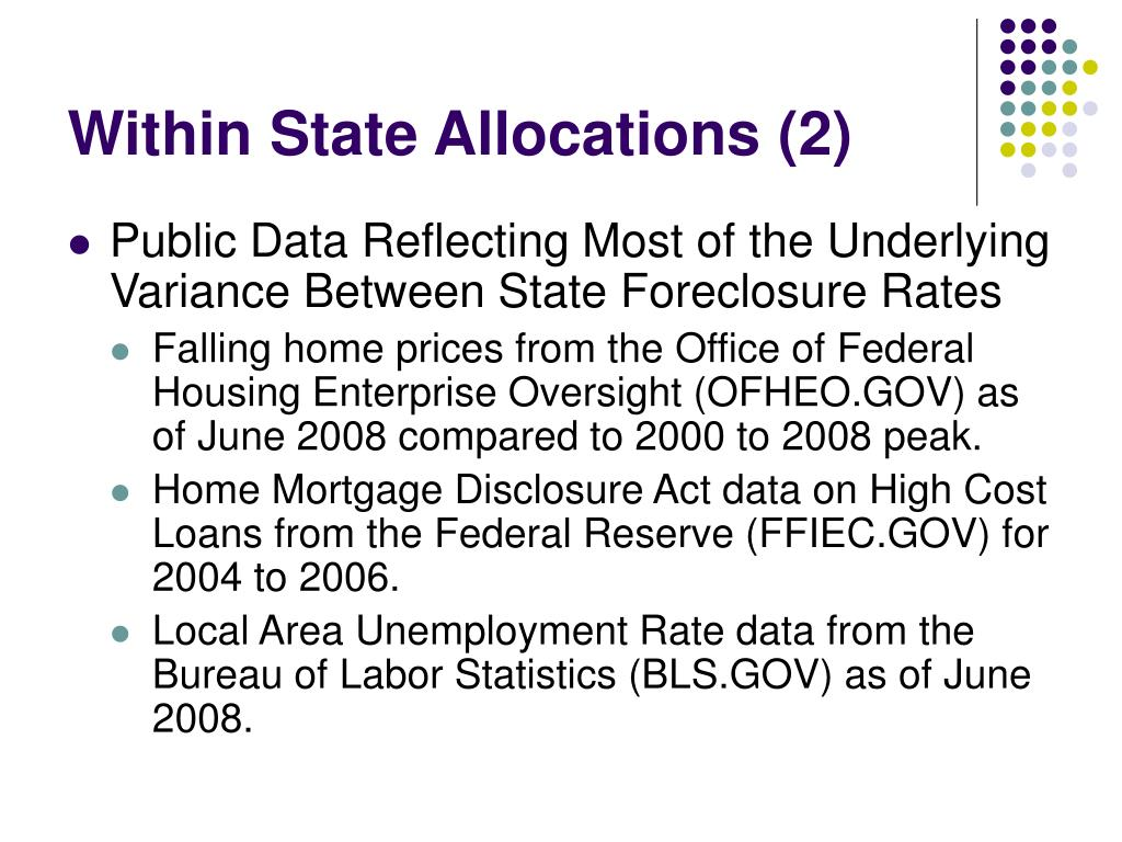 Within State Allocations (2)