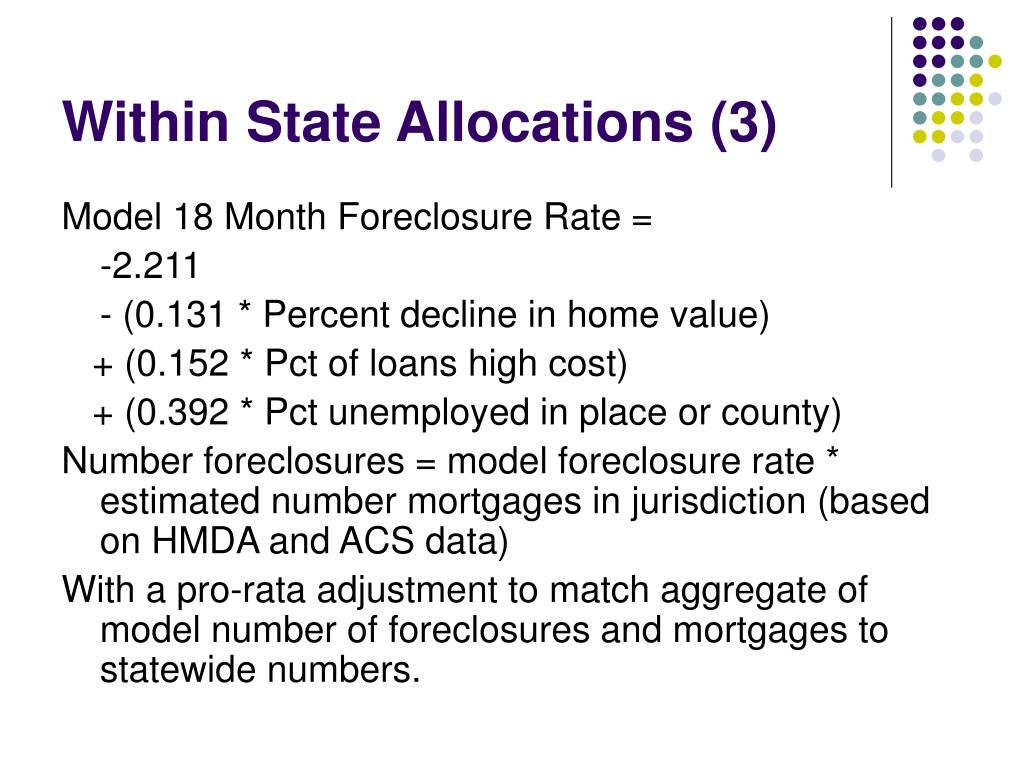 Within State Allocations (3)