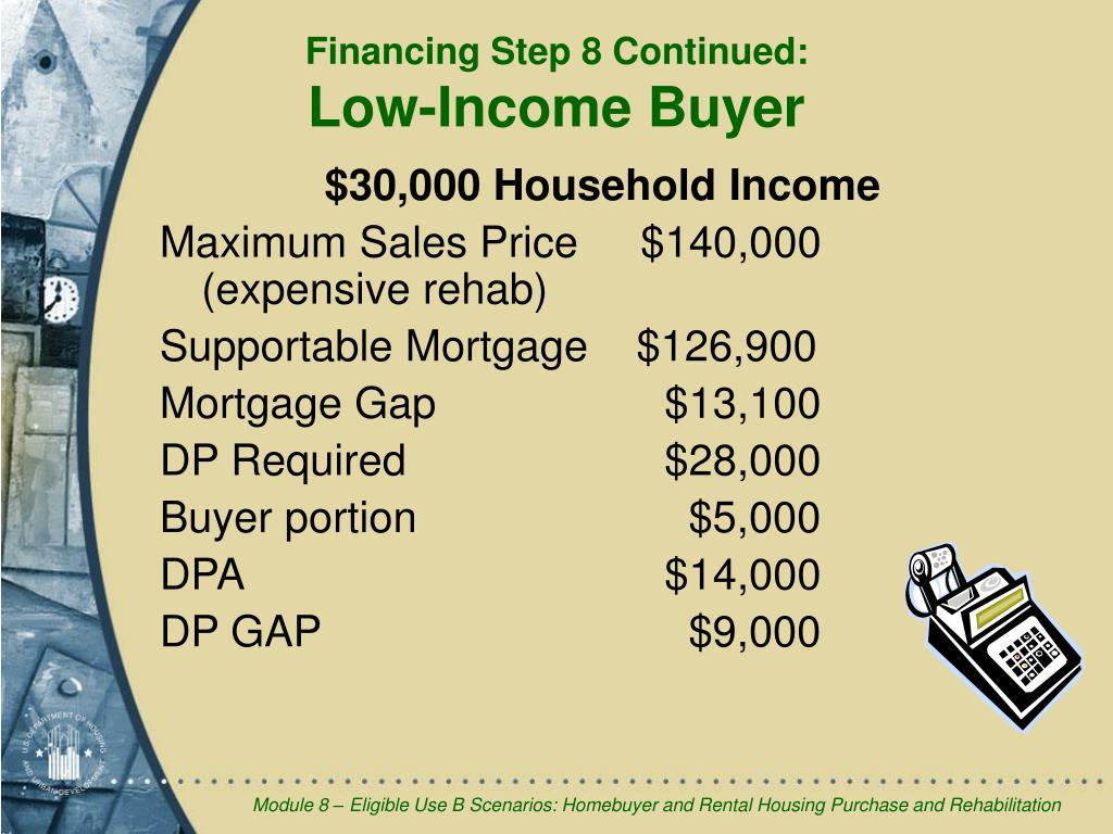 $30,000 Household Income