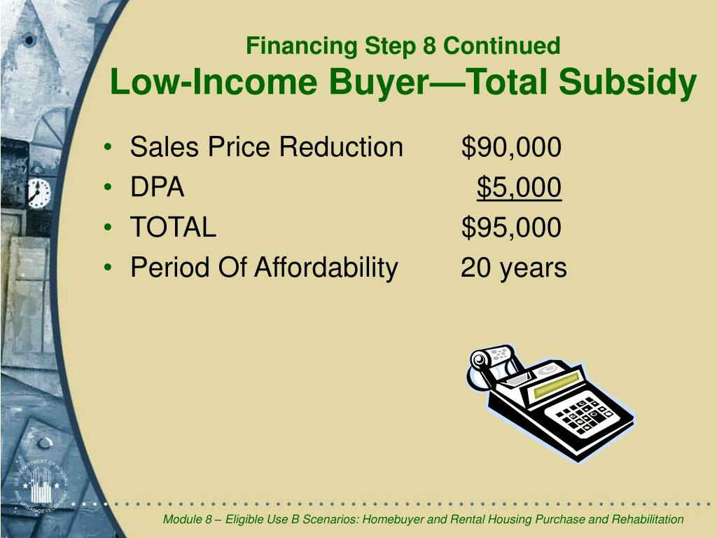 Sales Price Reduction$90,000