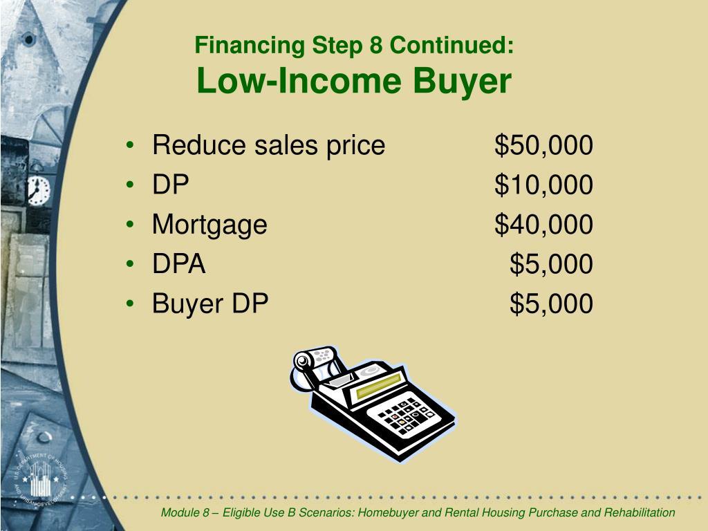 Reduce sales price  $50,000