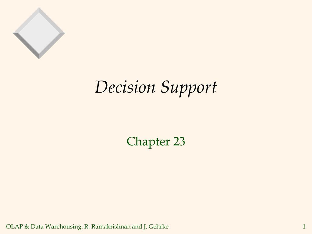 decision support l.