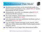 multidimensional data model11