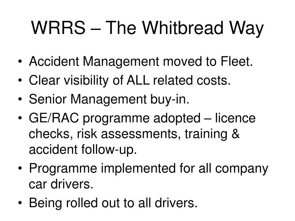 WRRS – The Whitbread Way