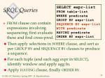 srql queries