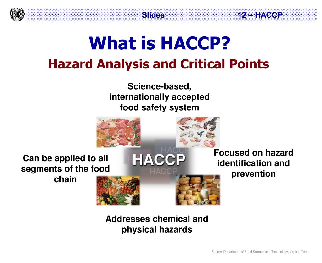 PPT - Hazard Analysis and Critical Control Points (HACCP) PowerPoint