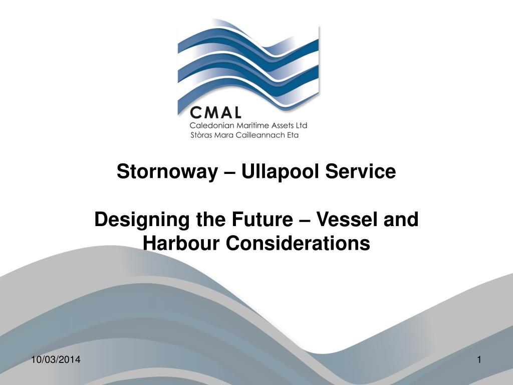 Stornoway – Ullapool Service