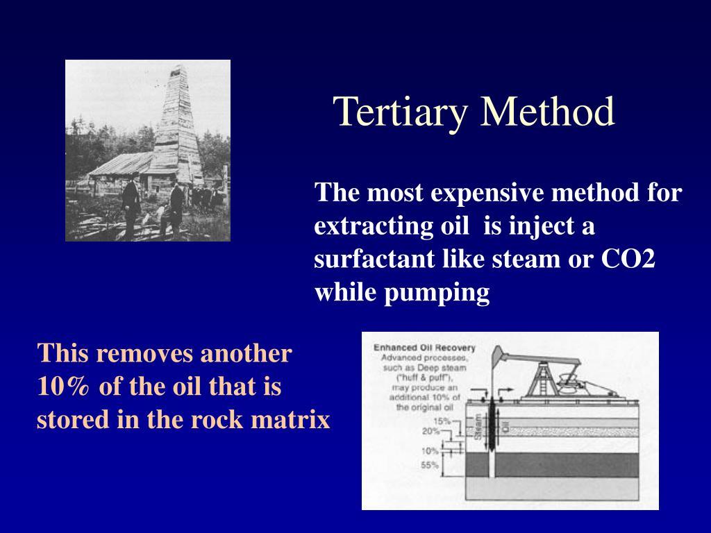 Tertiary Method