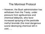 the montreal protocol123