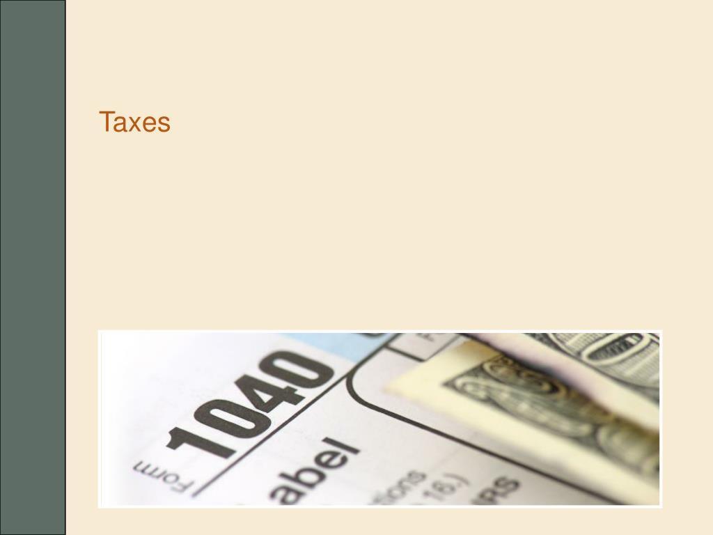taxes l.